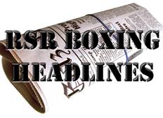 RSR Boxing Headlines header