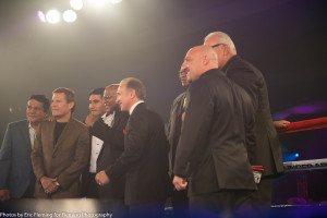 Legends in ring