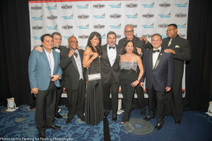 Roberto Duran, Mauricio Sulaiman, Aaron Pryor, Mia St. John, GerryCooney, Larry Holmes and couple