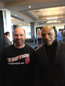 Bad Brad and Mike Tyson
