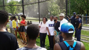 Gary Russell Jr ceremony