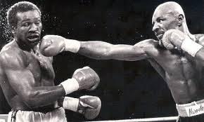 Hagler vs Mugabi