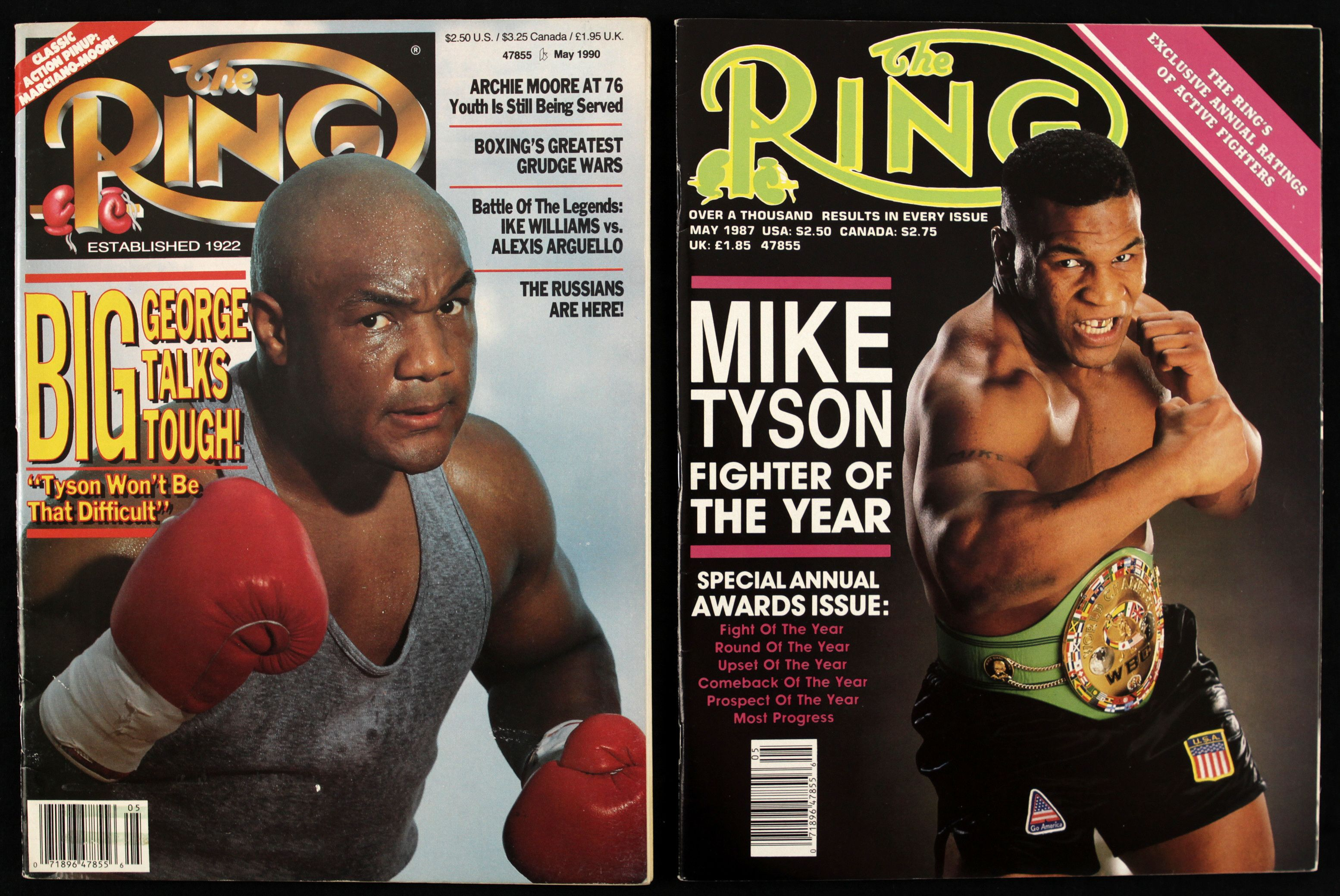 What if iron mike tyson vs big george foreman ringside report m4hsunfo