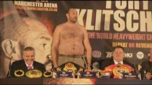 Tyson Fury Fat