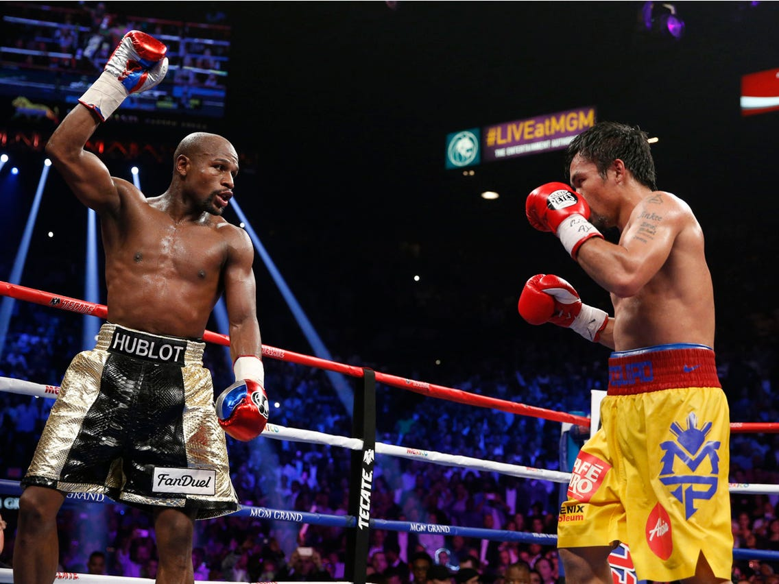 Floyd Mayweather Jr Vs Manny Pacquiao 5 Years Later Ringside Report